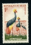 Stamps Africa - Niger -  Grullas Coronadas