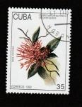 Stamps : America : Cuba :  Flores Jardín Botánico Cienfuegos