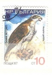 Sellos de Europa - Bulgaria -  accipiter gentilis