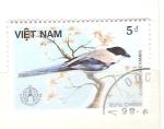 Stamps : Asia : Vietnam :  cyanopica cyanus RESERVADO