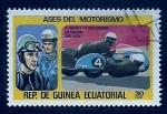 Sellos del Mundo : Africa : Guinea_Ecuatorial : Ases del Motorismo