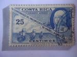 sellos de America - Costa Rica -  5° Aniversario del Nacimiento de Isabel  la Católica - Reina Isabel de Castilla- Queen Isabella I.