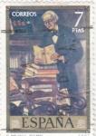 Stamps Spain -  EL BIBLIÓFILO-Solana (40)