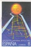 Stamps : Europe : Spain :  eXPOSICIÓN uNIVERSAL sEVILLA 1992   (40)