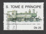 Stamps : Africa : São_Tomé_and_Príncipe :  Locomotora Mallet