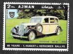 Stamps United Arab Emirates -  YtPA79A - Coches Antiguos