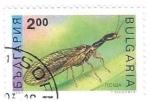 Sellos del Mundo : Europa : Bulgaria : insecto