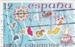 sello : Europa : España : España Insular- Islas Canarias (40)