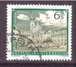 Sellos de Europa - Austria -  serie- Abadias y monasterios