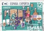Sellos del Mundo : Europa : España :  España exporta vinos (40)