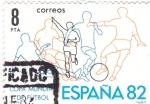 Stamps Spain -  Copa Mundial de Futbol España'82 (40)