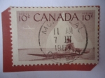 Stamps Canada -  Inuk - Cazador Esquimal