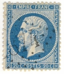 Stamps Europe - France -  Napoleon III (Empire Franc)