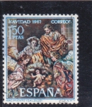 Stamps : Europe : Spain :  Nacimiento (Salcillo)(41)