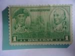 Stamps of the world : United States :  John PaulJanes y John Barry - Héroes de la Marina