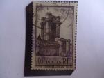 Stamps of the world : France :  Castillo de Vincenes - Donjon de Vincennes - Mazmorra al fondo del Castillo.