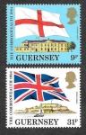 Stamps : Europe : United_Kingdom :  279-280 - Enlaces con la Commonwealth