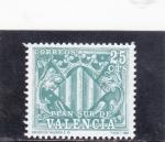 Stamps : Europe : Spain :  Plan sur de Valencia (41)