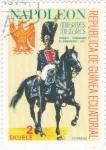 sello : Africa : Guinea_Ecuatorial : Teniente comandante de granaderos 1815