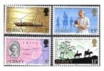 Sellos del Mundo : Europa : Reino_Unido : 164-167 - Centenario del Nacimiento Dr. Lilian Mary Grandin