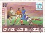 sello : Africa : Rep_Centroafricana : Mundial de futbol Argentina 78