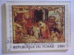 de Africa - Chad -  David y los Ancianos de Israel - Oleo de Pedro Pablo Rubens (1577-1640).