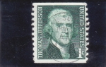 de America - Estados Unidos -  Thomas Jefferson