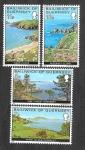 Sellos de Europa - Reino Unido -  137-140 - Vistas de Guernsey