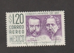 Stamps : America : Mexico :  Constituyentes 1857