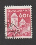 Stamps : Europe : Czechoslovakia :  Castill0 de Karlstein