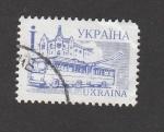Stamps : Europe : Ukraine :  Trolebuses