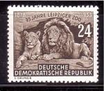 de Europa - Alemania -  75 Aniversario Zoo de Leipzig