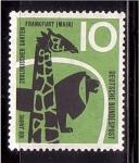 de Europa - Alemania -  100 años zoo de Frankfurt