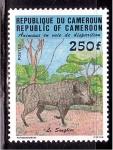 de Africa - Camerún -  Animales en peligro de extición