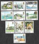 Sellos del Mundo : Europa : Reino_Unido : 285---- Vistas de Guernsey