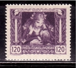 Stamps of the world : Czechoslovakia :  1º aniv. de la Independencia