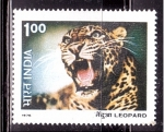 Stamps of the world : India :  serie- Fauna salvaje
