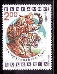 Stamps of the world : Bulgaria :  serie- Predadores