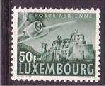 Sellos de Europa - Luxemburgo -  Correo aéreo