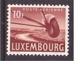 Stamps of the world : Luxembourg :  Correo aéreo