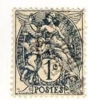 Sellos de Europa - Francia -  Blanc (Republique Francaise)