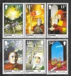 Sellos del Mundo : Europa : Reino_Unido : 356-361 - CM Aniversario de la Muerte de Guillermo el Conquistador, Rey de Inglaterra