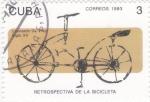 sello : America : Cuba : retrospectiva de la bicicleta