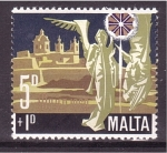 Stamps Malta -  Navidad