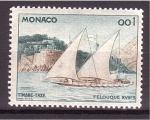 Sellos de Europa - Mónaco -  Felouque XVIII'S