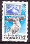 Stamps Mongolia -  serie- Expediciones