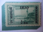 Sellos del Mundo : Asia : Irak : Sellos Otomanos - Fenerbahce -Sello Ocupación Británica en Iraq.(1920)