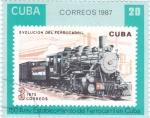 sello : America : Cuba : 150 anivers. establecimiento ferrocarril en Cuba