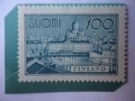 Sellos del Mundo : Europa : Finlandia : Helsinki-Harbour - Puerto de Helsinki-Capital y la Ciudad más grande de Fl.