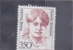 Stamps Germany -  HEDWIG DRANSFELD-mujeres célebres